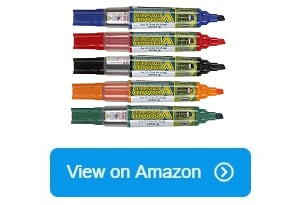 100 Show-me Fine Point Drywipe White Board Black Markers FPCP100 Class Pack XGSM