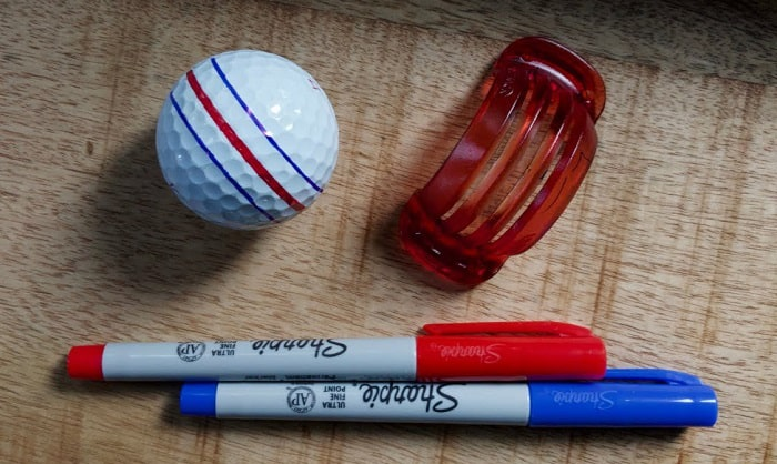 best permanent marker for golf balls