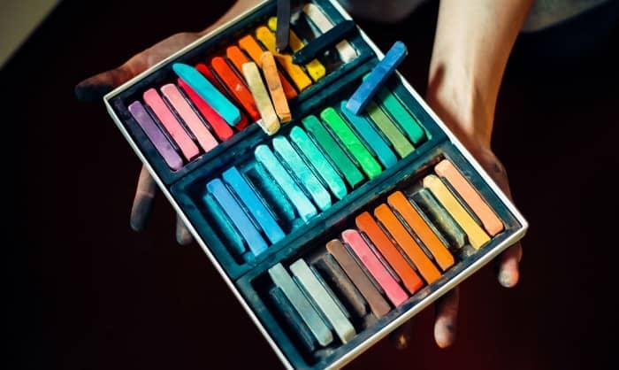 best hard pastels