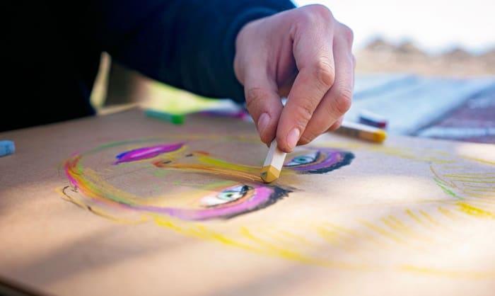 oil-pastels-paper