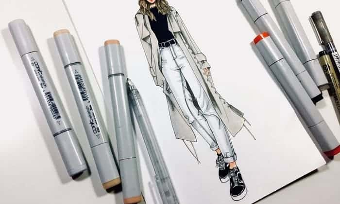 best markers for fashion illustration