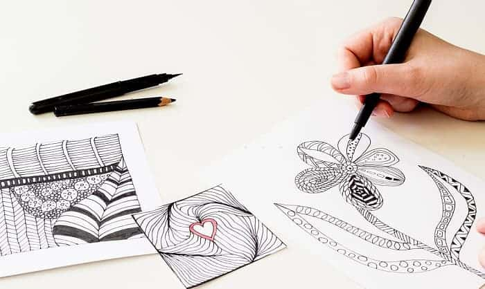 best pens for zentangle