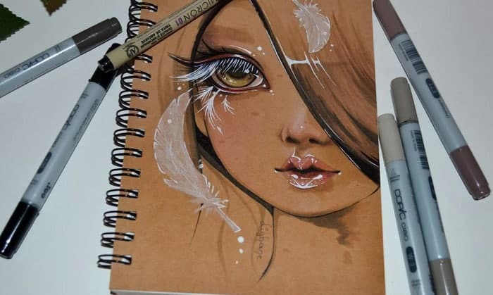 best sketchbook for copic markers
