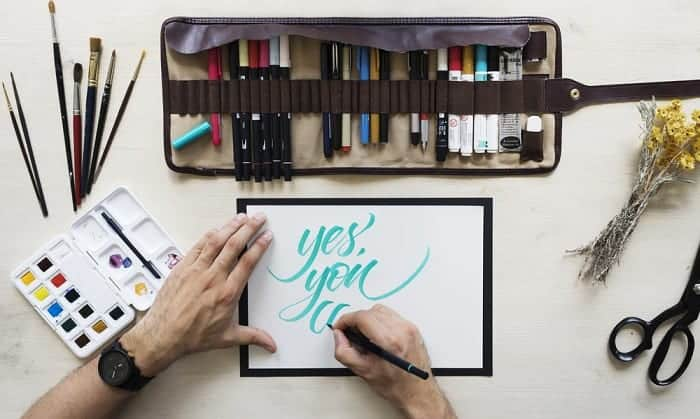best hand lettering kit for beginners