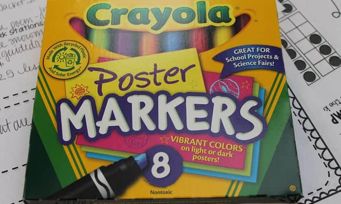 best markers for poster board