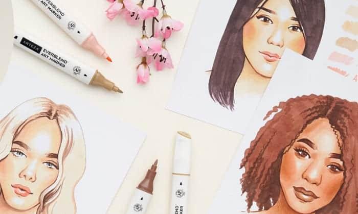 best skin tone markers