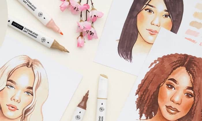 best skin tone markers
