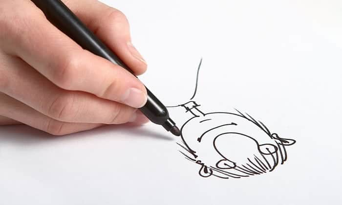 best caricature markers