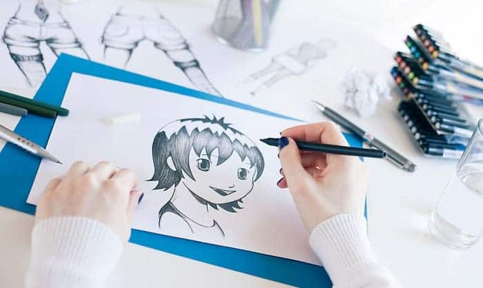 best markers for manga