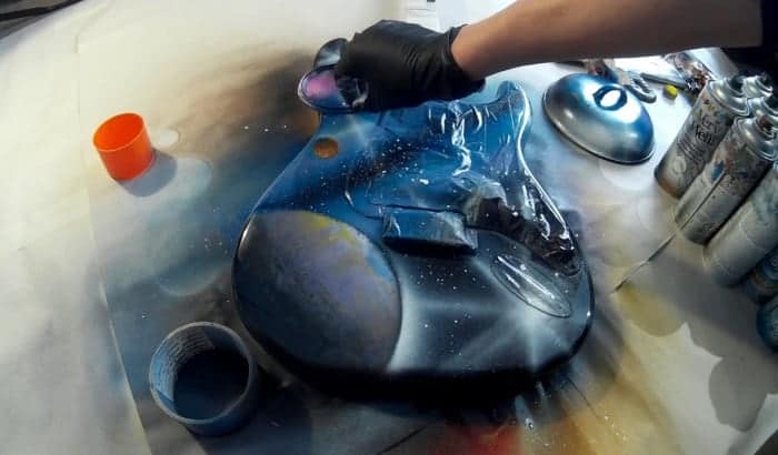 best spray paint for guitar