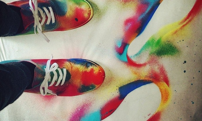 best spray paint for shoes