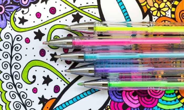 best-gel-pens-for-coloring