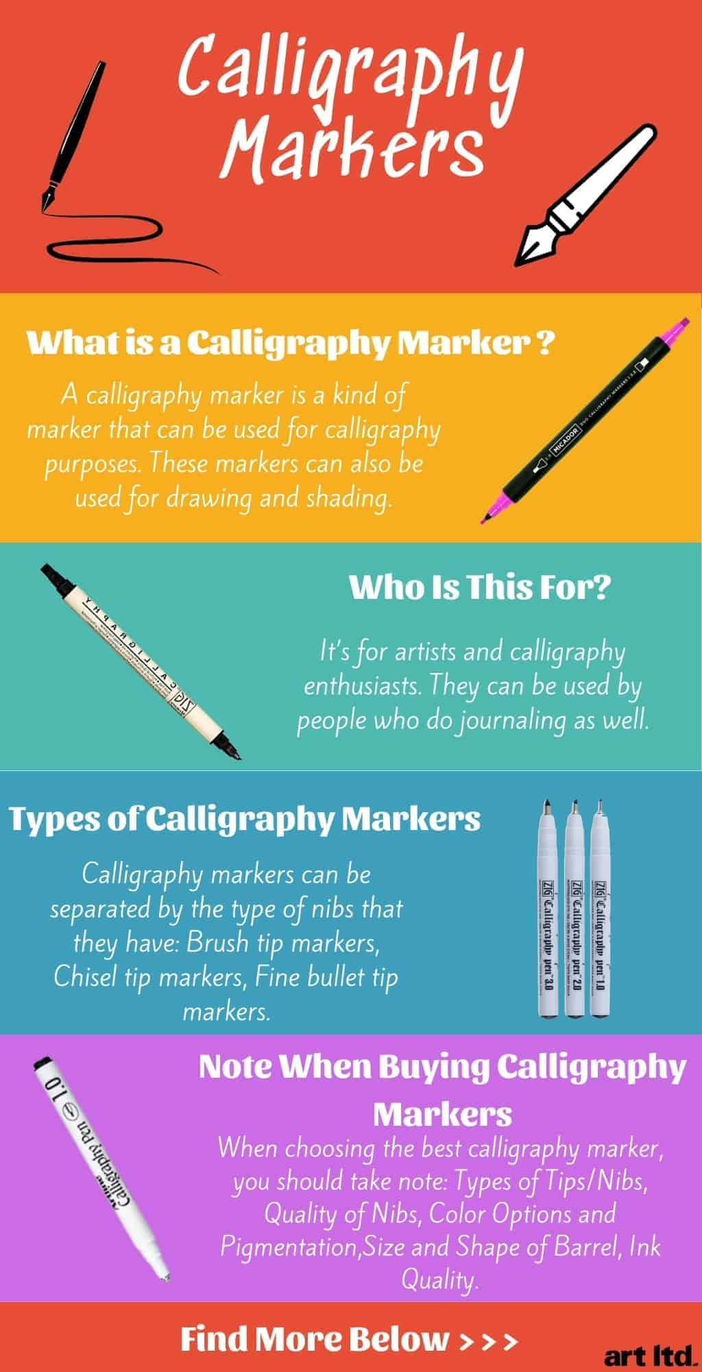 calligraphy-marker-set