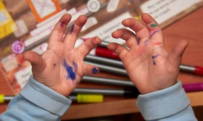 how to take permanent marker off skin
