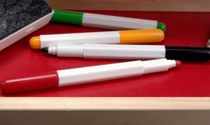 how to use chalk markers