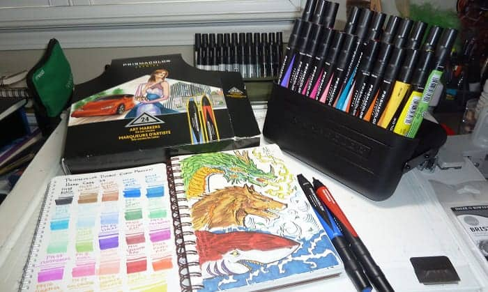 How-do-you-blend-prismacolor