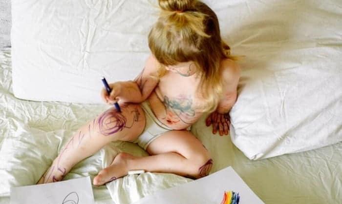How-do-you-get-marker-off-kids-hands