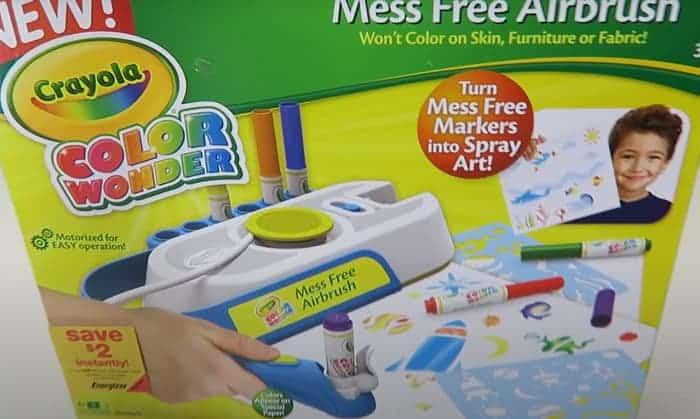 how do crayola color wonder markers work