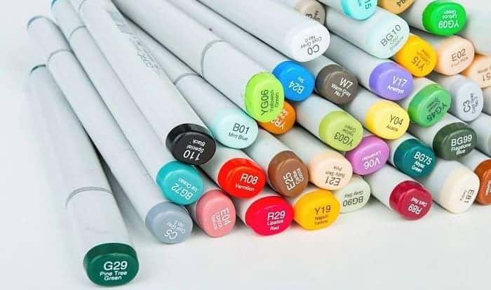 how many copic markers are there