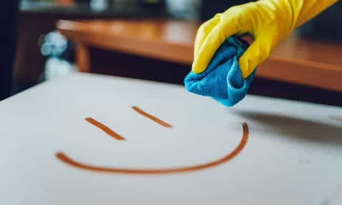 how to get permanent marker off countertop