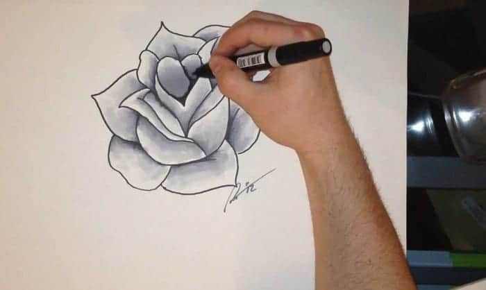 how to shade with markers