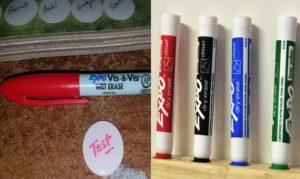 wet erase vs dry erase marker