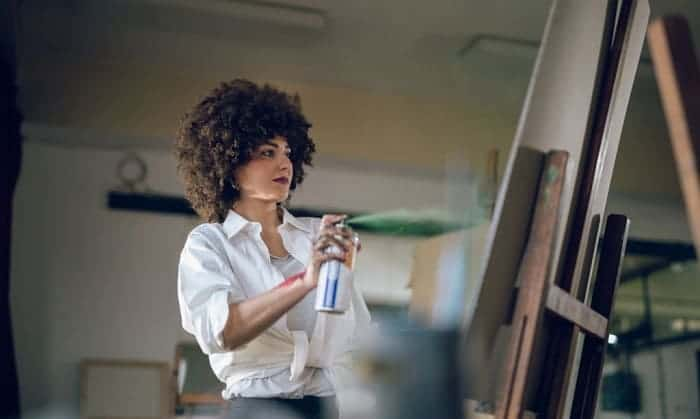 best spray paint for paper