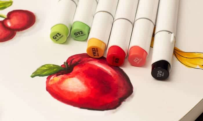 how to color with copic markers