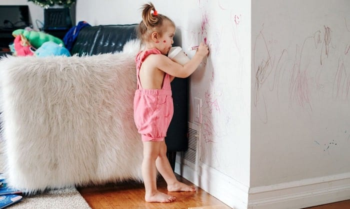 how to get permanent marker off walls and doors