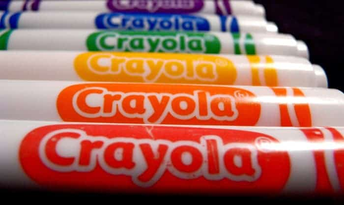 how long is a crayola marker